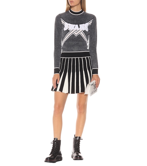 Off-White - Pleated miniskirt - mytheresa.com