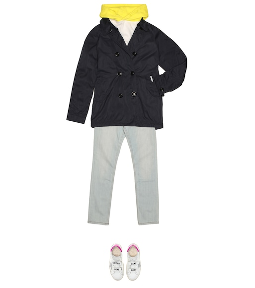 Woolrich Kids - Trenchcoat Peached - mytheresa.com