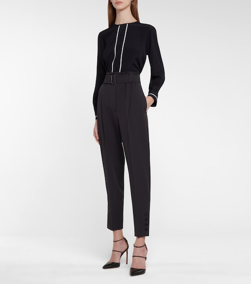 Max Mara - Dida virgin wool straight pants - mytheresa.com