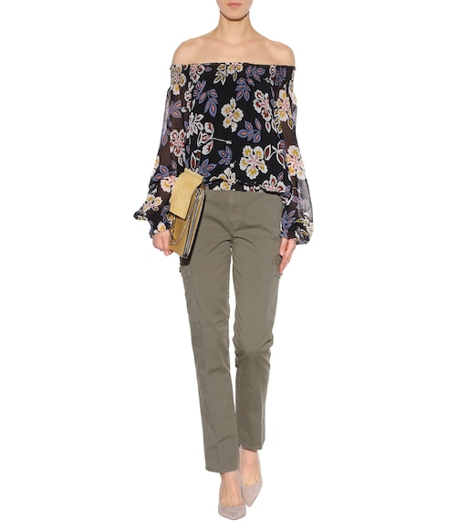 Tory Burch - Sierra Chino cotton trousers - mytheresa.com