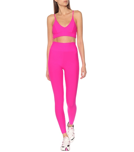 Lanston Sport - Parker high-rise leggings - mytheresa.com