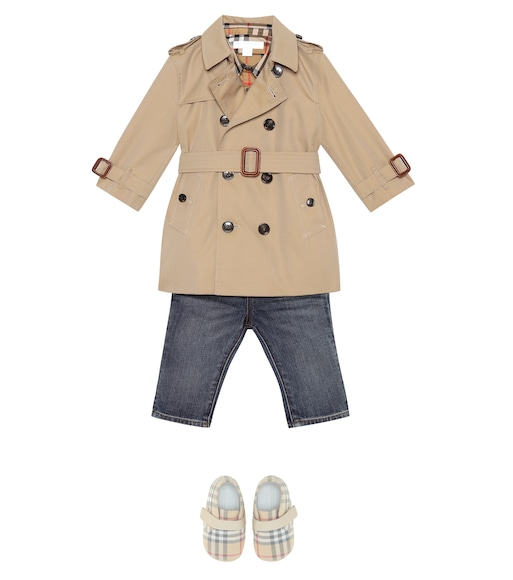 Burberry Kids - Relaxed-fit pull-on denim jeans - mytheresa.com