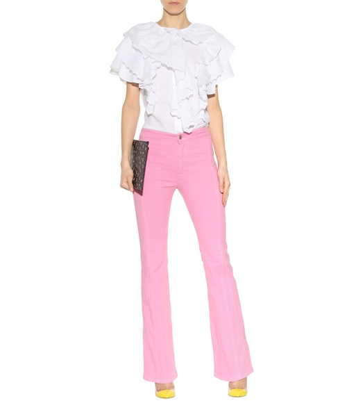 Givenchy - Corduroy cotton trousers - mytheresa.com