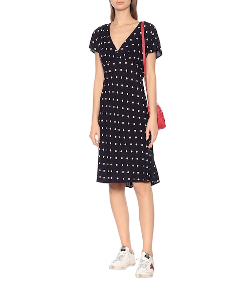 Velvet - Juna polka-dot dress - mytheresa.com