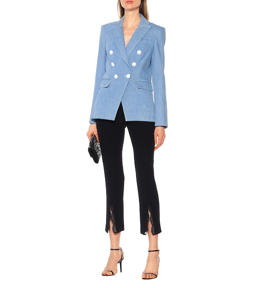 Veronica Beard - Miller Dickey denim blazer - mytheresa.com
