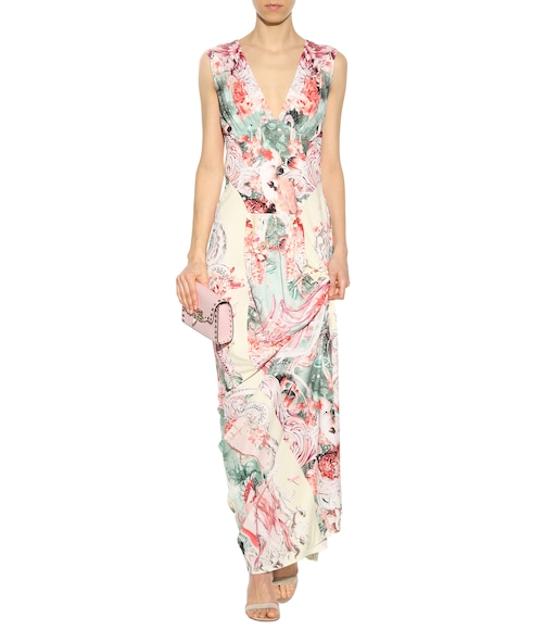 Roberto Cavalli - Floral-printed dress - mytheresa.com