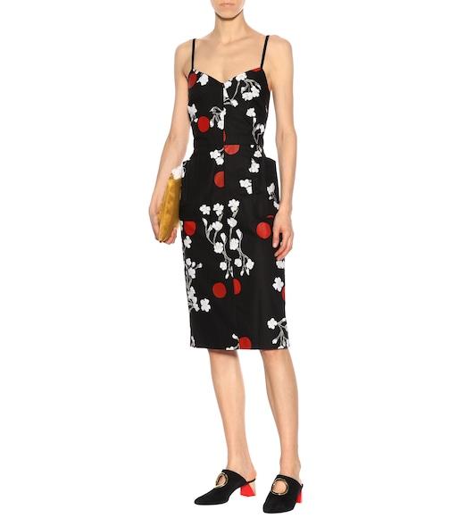 Obliterated Blossom cotton dress Isa Arfen 2018 Unisex Cheap Price htRqEIrC