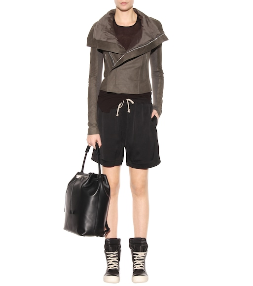 Rick Owens - High-rise shorts - mytheresa.com