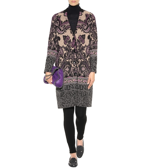 Etro - Knitted wool-blend coat - mytheresa.com