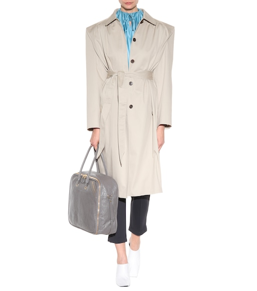 Balenciaga - Cotton coat - mytheresa.com