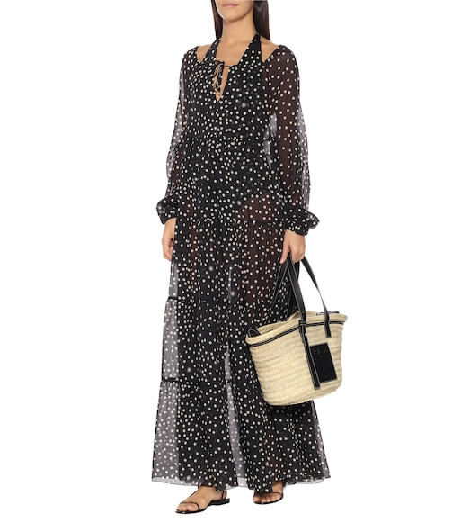 Stella McCartney - Polka-dot cotton and silk maxi dress - mytheresa.com