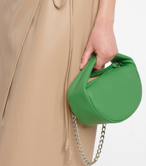 By Far - Baby Cush leather tote - mytheresa.com