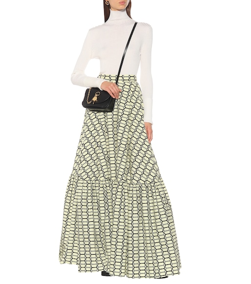 Plan C - Printed cotton maxi skirt - mytheresa.com