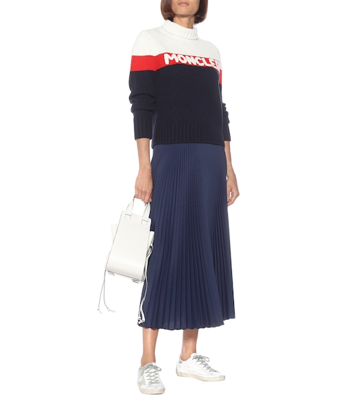 Moncler - Wool and cashmere sweater - mytheresa.com