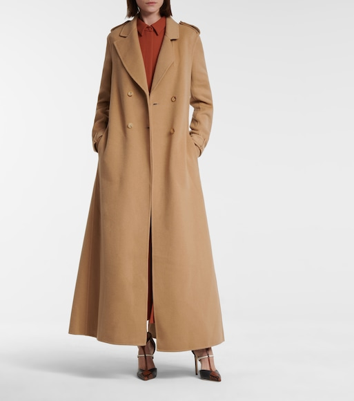 Gabriela Hearst - Houstt recycled cashmere coat - mytheresa.com