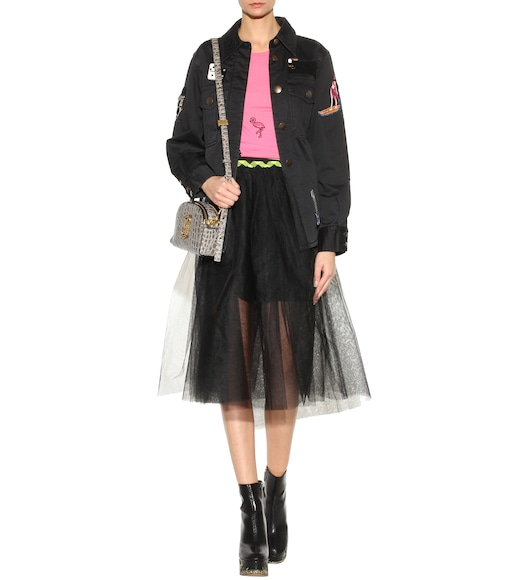 Marc Jacobs - Embellished cotton jacket - mytheresa.com