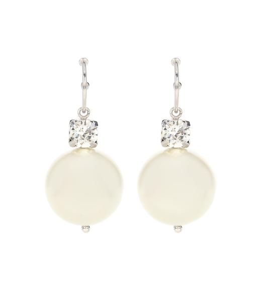Crystal and faux-pearl earrings Simone Rocha 9PNXO