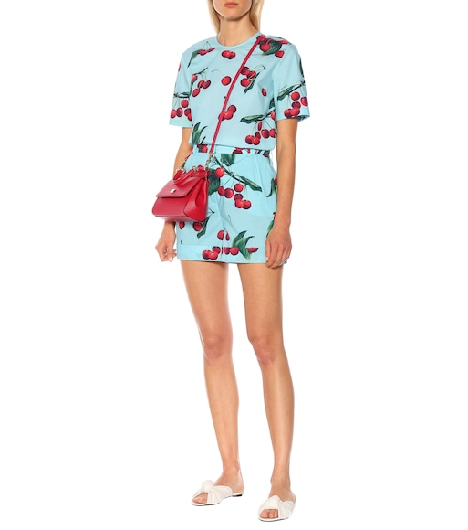 Dolce & Gabbana - Exclusive to Mytheresa – cherry printed cotton shorts - mytheresa.com