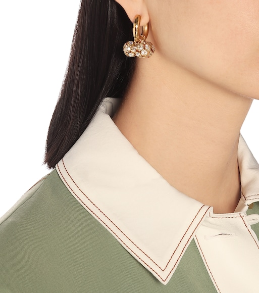 Timeless Pearly - Mismatched embellished earrings - mytheresa.com