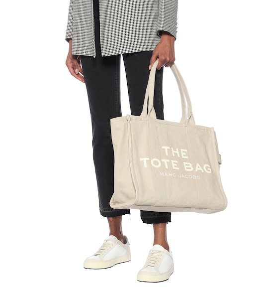 Marc Jacobs - The Traveler canvas tote - mytheresa.com