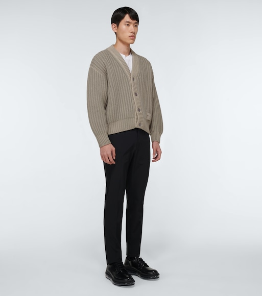 Prada - Wool and cashmere-blend cardigan - mytheresa.com