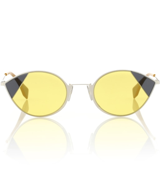 Fendi - Cut-Eye sunglasses - mytheresa.com