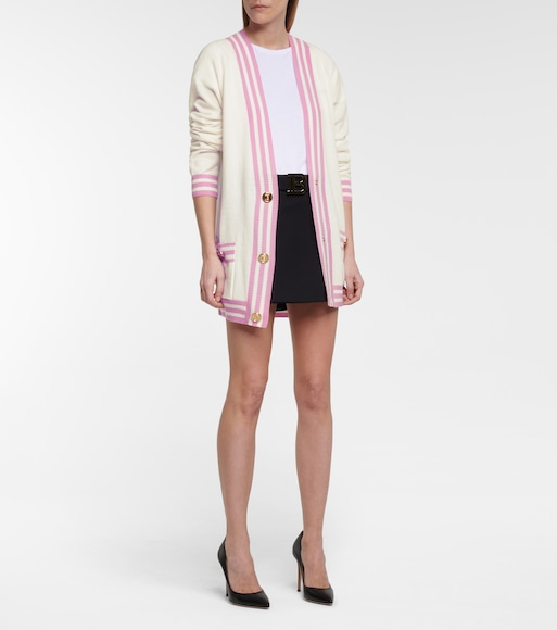 Balmain - Wool and cashmere-blend cardigan - mytheresa.com
