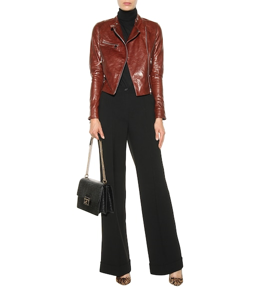 Dolce & Gabbana - Leather jacket - mytheresa.com