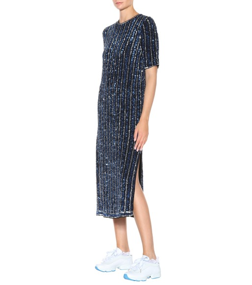 Ganni - Exclusive to mytheresa.com – Pfeiffer sequinned dress - mytheresa.com