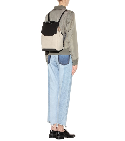 Rag & Bone - Pilot canvas and leather backpack - mytheresa.com