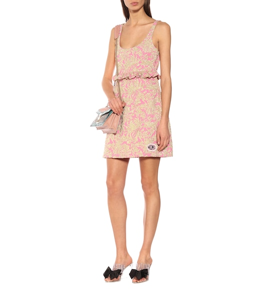 Miu Miu - Brocade minidress - mytheresa.com