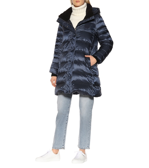 Burberry - Down puffer coat - mytheresa.com