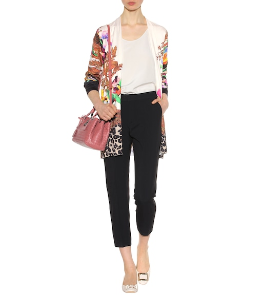 Etro - Silk-blend open cardigan - mytheresa.com