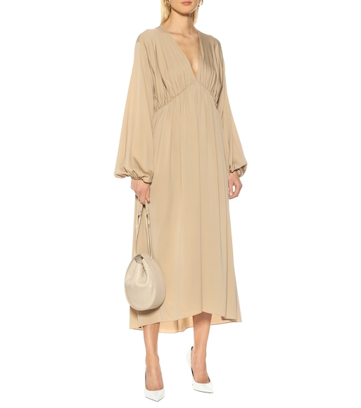 The Row - Sasha stretch silk crêpe dress - mytheresa.com