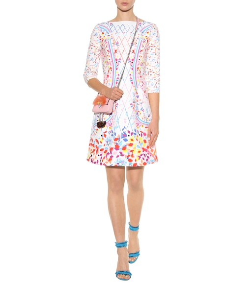 Peter Pilotto - Printed crêpe mini dress - mytheresa.com