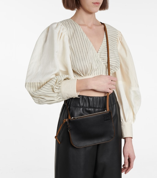 Loewe - Gate leather clutch - mytheresa.com
