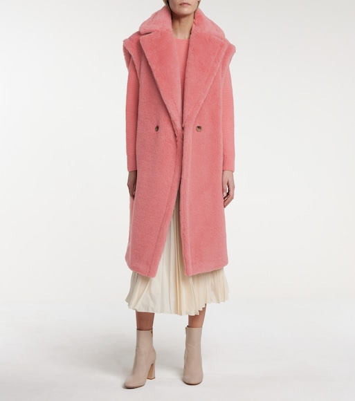 Max Mara - Gettata alpaca-blend coat - mytheresa.com