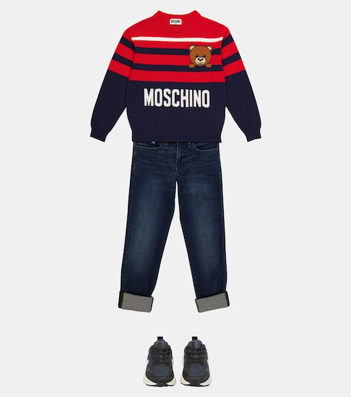 Moschino Kids  - Pullover in cotone - mytheresa.com