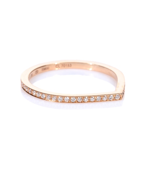 Repossi - Antifer 18kt rose gold ring with white diamonds - mytheresa.com