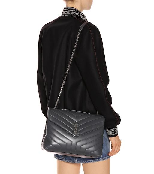 b156cee50 Saint Laurent - Medium Loulou Monogram shoulder bag - mytheresa.com