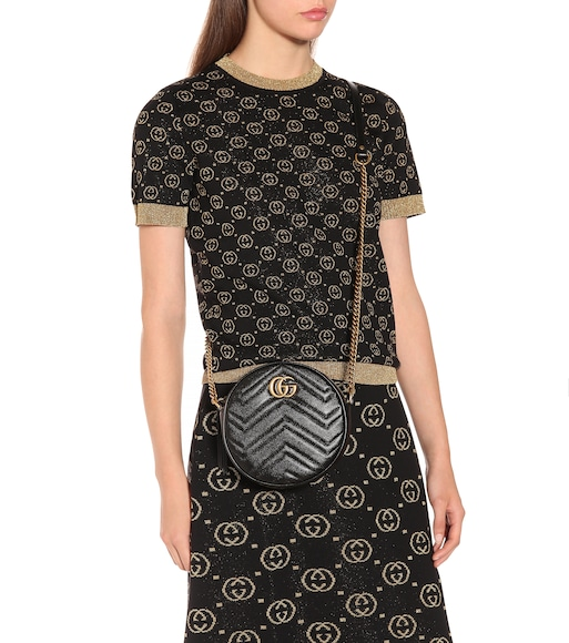 Gucci - GG Marmont Mini shoulder bag - mytheresa.com