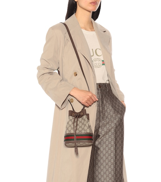 0d05c1cf31e050 Gucci - Bucket-Bag Ophidia GG Mini - mytheresa.com