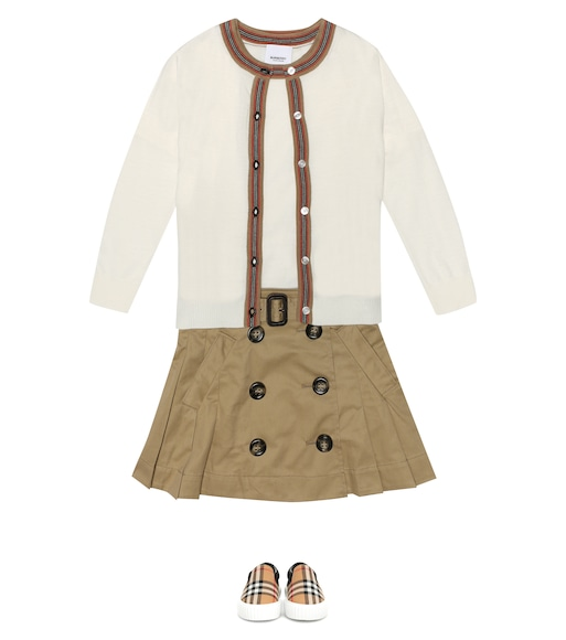 Burberry Kids - Wool cardigan - mytheresa.com