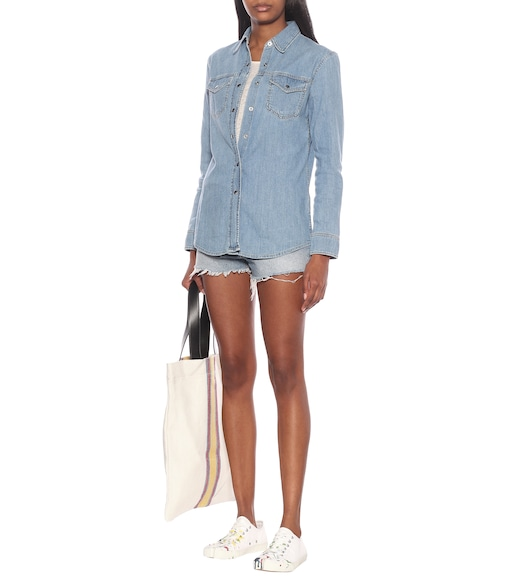 Acne Studios - Blå Konst cotton-denim shirt - mytheresa.com