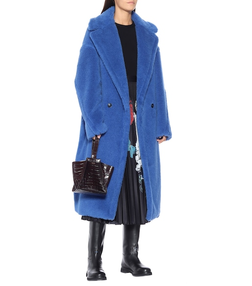 Max Mara - Tedgirl alpaca and wool-blend coat - mytheresa.com
