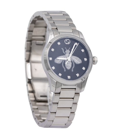 Gucci - G-Timeless 27mm stainless steel watch - mytheresa.com