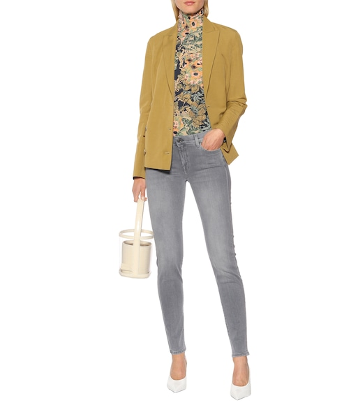 7 For All Mankind - The Skinny mid-rise jeans - mytheresa.com