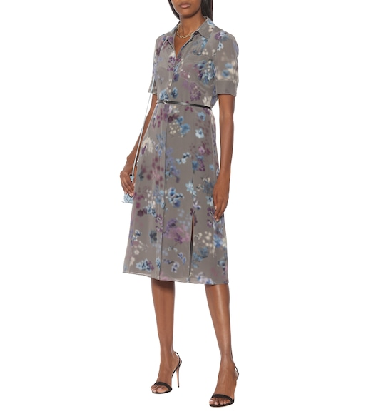 Altuzarra - Kieran floral silk midi shirt dress - mytheresa.com