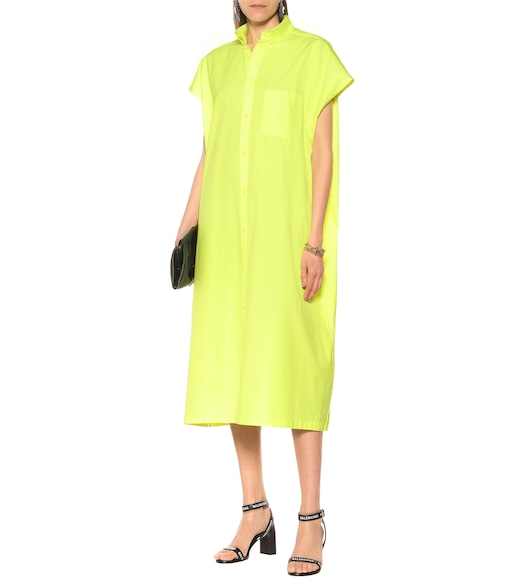 Balenciaga - Cotton shirt dress - mytheresa.com