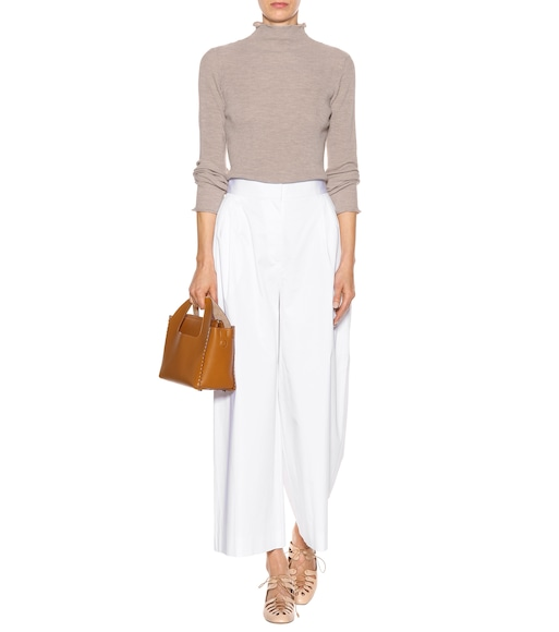 The Row - Wado cotton culottes - mytheresa.com